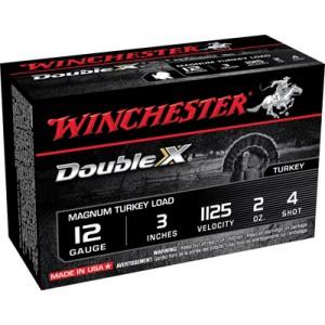 "Winchester Supreme XX Turkey .12 Gauge (3"") 4 Shot Lead (10-Rounds) - X123MXCT4"