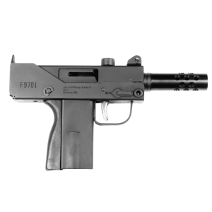 "Masterpiece Arms Defender 9mm 1+1 3.3"" Pistol in Black (Mini Top Cocking *CA Compliant*) - MPA930TCA"