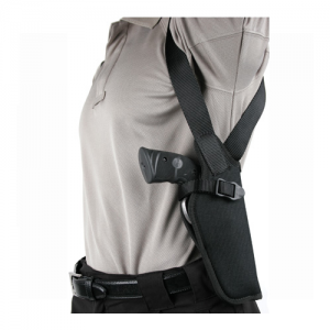 "Blackhawk Shoulder Right-Hand Shoulder Holster for Most Handguns in Black (5"" - 6"") - 40VH03BK-R"