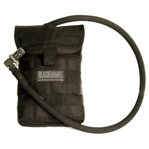 Side Hydration Pouch BK 40 oz.  Side Hydration Pouch Black These hydration pouches were designed for those missions where you dont need or want 100oz of water on your back. They hold 40oz each, and can be mounted anywhere on a vest or pack with S.T.R.I.K.