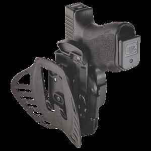 Hogue 52019 Powerspeed Glock 19,23,25,32,38 02 Hard Plastic Black - 52019