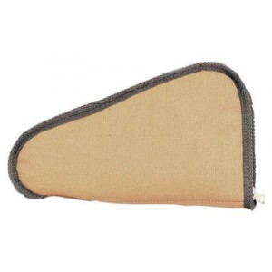 """Uncle Mike's Pistol Rug, With Pocket, Ballistic Nylon, 10"""", Tan 4211-0"""