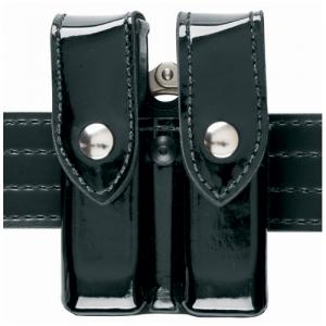 Safariland Model 72 Magazine & Cuff Pouch Magazine/Handcuff Holder in Hi-Gloss - 72-383-9