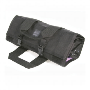 Emergency Medical Roll  Emergency Medical Roll, Black, 15 pouches, secures by hook & loop with side release buckles, full wrap around heavy-duty handles