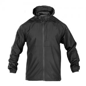 5.11 Tactical Packable Operator Men's Full Zip Jacket in Black - Large