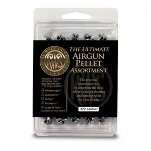 Umarex .177 Caliber Pellet Sampler w/Assortment Of 5 Top Pellets 2135900