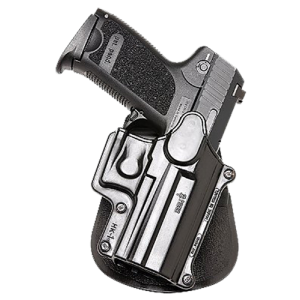 Fobus USA Paddle Ambidextrous-Hand Paddle Holster for Heckler & Koch USP Compact in Black - HK1