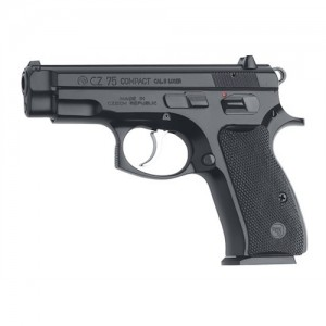 "CZ 75 Compact 9mm 10+1 3.9"" Pistol in Black - 1190"
