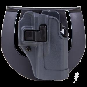 Blackhawk Serpa Sportster Right-Hand Paddle Holster for Glock 19, 23, 32 in Grey - 413502BKR
