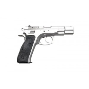 "CZ 75 B 9mm 16+1 4.7"" Pistol in Matte Stainless - 91128"