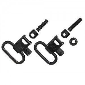 "Uncle Mikes 1"" Black Sling Swivels For Browning BLR Except Lightning Model 14812"