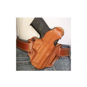 Desantis Gunhide 1 Thumb Break Scabbard Right-Hand Belt Holster for Sig Sauer P238 in Black Leather - 001BA98Z0