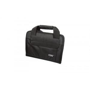 Leapers, Inc. - Utg Deluxe Double Pistol Case, Black Pvc-pc02b