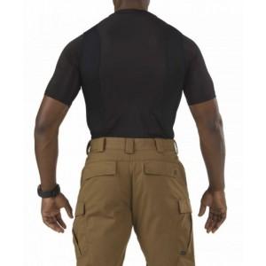 5.11 Tactical Crew Neck Men's Holster Shirt in Black - Medium