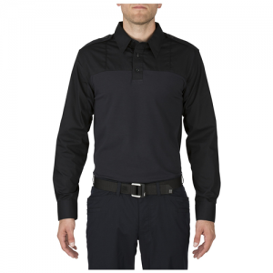 Long Sleeve Taclite PDU Shirt Color: Midnight Navy Length: Regular Size: Medium