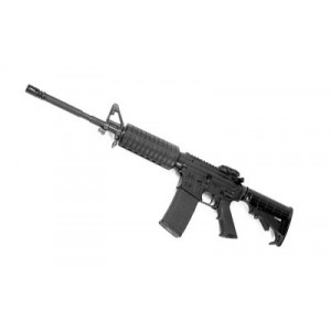 """Spike's Tactical ST-15 .223 Remington/5.56 NATO 30-Round 16"""" Semi-Automatic Rifle in Black - STR5025-M4S-C"""