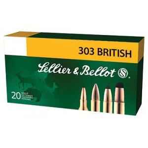 Magtech Ammunition .303 British Soft Point, 150 Grain (20 Rounds) - SB303B