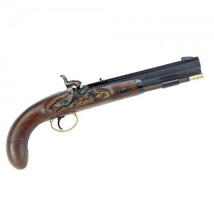 Lyman 50 Cal Plains Pistol w/Blued Barrel & Walnut Stock 6010608