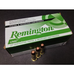 Remington UMC .38 Special Metal Case, 130 Grain (50 Rounds) - L38S11