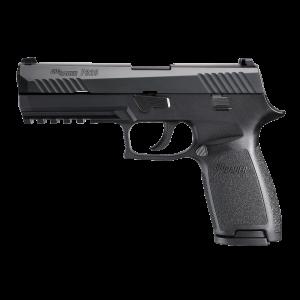 """Sig Sauer P320 Full Size .40 S&W 14+1 4.7"""" Pistol in Black Nitron (SIGLITE Night Sights) - 320F40BSS"""