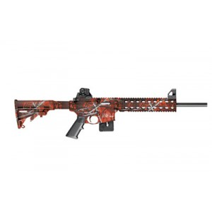 """Smith & Wesson M&P 15-22 .22 Long Rifle 10-Round 16.5"""" Semi-Automatic Rifle in Harvest Moon Orange - 10044"""