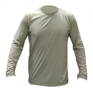 Tru Spec Gen-III ECWCS Level-1 Men's Long Sleeve Compression Tee in Black - Large