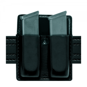 75-Double Mag Pouch Without Flaps Gun Fit:  Beretta Cougar 8045F Finish: Basket Weave