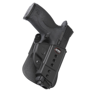 Fobus USA Roto Evolution Right-Hand Paddle Holster for Smith & Wesson M&P Shield in Black - PPSRP