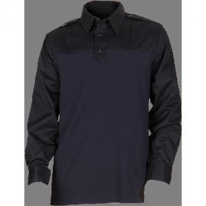 5.11 Tactical PDU Rapid Men's Long Sleeve Uniform Shirt in Midnight Navy - Medium
