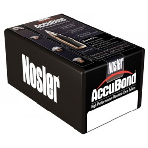 Nosler AccuBond 7MM Caliber 140 Grain Spitzer 50 Round Box