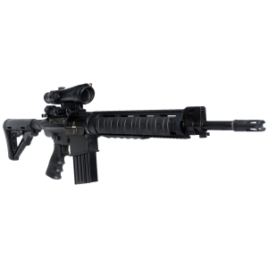 """DPMS Panther Arms LR-308 Mark 12 AR-10 .308 Winchester/7.62 NATO 19-Round 18"""" Semi-Automatic Rifle in Black - RFLRM12"""