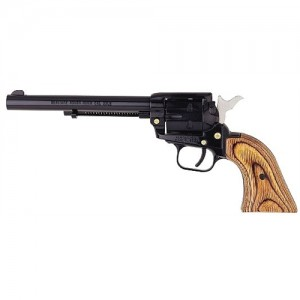 """Heritage Rough Rider Small Bore .22 Long Rifle 6-Shot 6.5"""" Revolver in Blued - RR22MB6"""