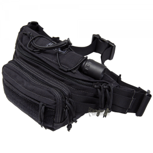 Maxpedition Octa Waterproof Waist Pack in Black Nylon 1000D Nylon - 0455B