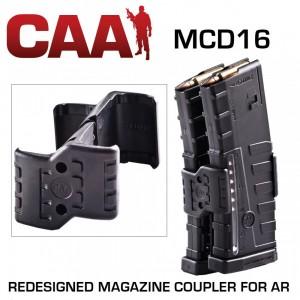 CAA Command Arms AR-15 30rd Magazine Coupler Poly Black MCD16