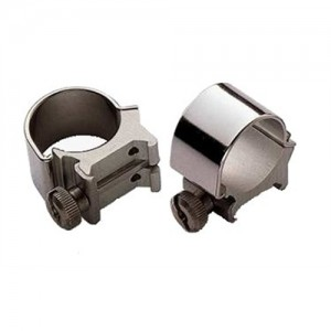 """Weaver 1"""" High Detachable Top Mount Rings w/Stainless Steel Finish 49033"""