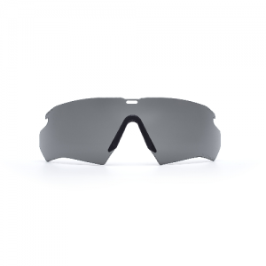 Crossbow Lens Smoke Gray - 2.4mm interchangeable lens & nosepiece. ClearZone dual lens coatings maximize scratch resistance on the outside & fog resistance on the inside