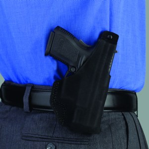 """Galco International Paddle Lite Right-Hand Paddle Holster for Ruger SP101 in Black (3"""") - PDL164B"""