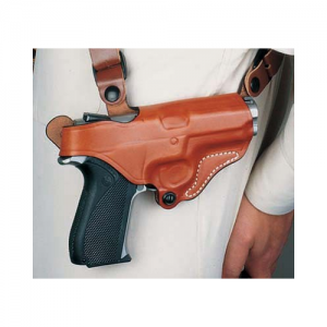 Desantis Gunhide N.Y. Undercover Left-Hand Chest Holster for Sig Sauer P229R in Tan - 11HTBF4Z0