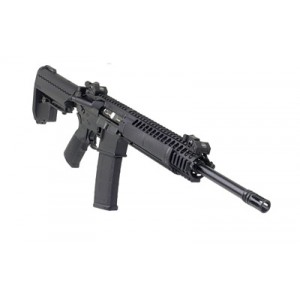 "LWRC IC .223 Remington/5.56 NATO 30-Round 16"" Semi-Automatic Rifle in Black - ICA2R5B16"