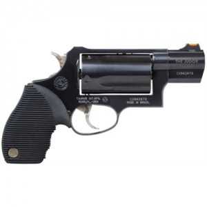 "Taurus Judge Tracker Public Defender .410/.45 Long Colt 5-Shot 2"" Revolver in Blued (Judge Public Defender) - 2441031TC"