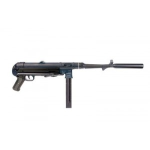 "American Tactical Imports MP40 .22 Long Rifle 28-Round 16"" Semi-Automatic Rifle in Black - GERGMP40"