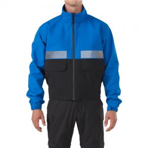 5.11 Tactical Bike Patrol Men's Full Zip Jacket in Royal Blue - 2X-Large