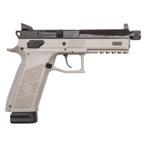 "CZ P-09 Suppressor Ready 9mm 21+1 5.15"" Pistol in Urban Grey (Night Sights) - 91269"