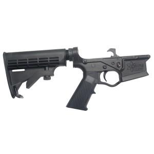 ATI OMNI Hybrid Complete Lower Receiver AR-15 Multi Caliber Black (All Parts Assembled) ATIGLOW200