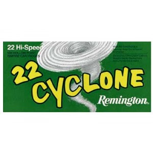 Remington Cyclone .22 Long Rifle Hollow Point, 36 Grain (500 Rounds) - 21222