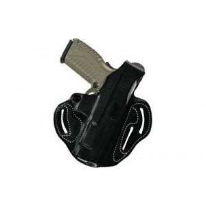"Desantis Gunhide 1 Thumb Break Scabbard Right-Hand Belt Holster for Sig Sauer P220R, P226R in Black Leather (4.4"") - 001BA90Z0"