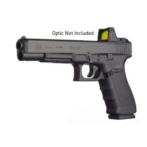 "Glock 40 10mm 10+1 5.3"" Pistol in Gas Nitride (Gen 4 MOS) - PG4030101MOS"