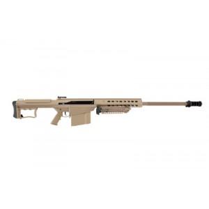 "Barrett Firearms M107A1 .50 BMG 10-Round 20"" Semi-Automatic Rifle in Tan - 14558"