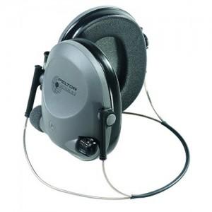Peltor Tactical Electronic Hearing Protection Earmuffs w/Black/Gray Finish 97043