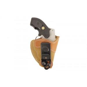 Desantis Gunhide 106 Sof-Tuk Left-Hand IWB Holster for Smith & Wesson J-Frame/Ruger LCR in Tan Suede Leather - 106NB02Z0
